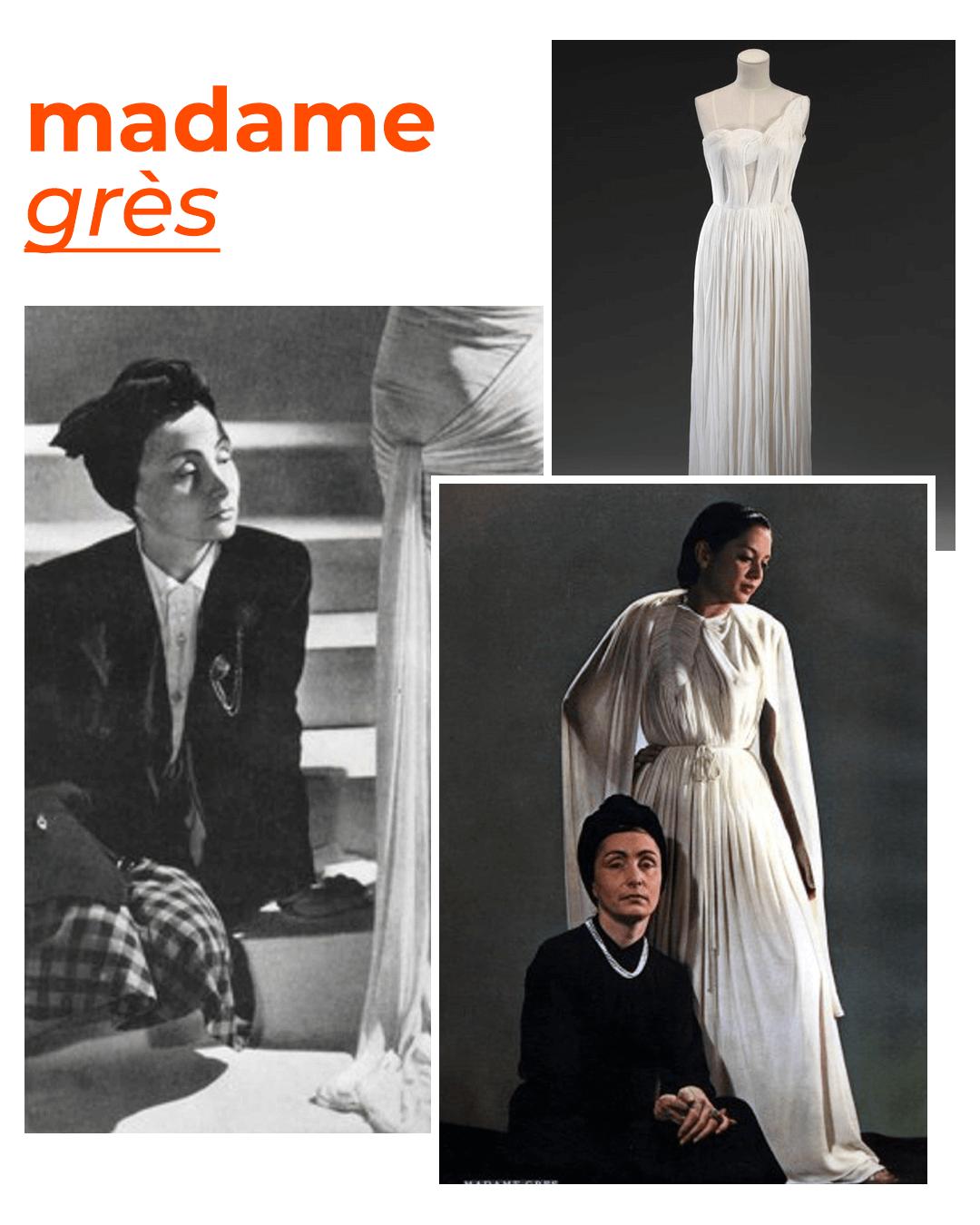 Madame Grès - mulheres que revolucionaram a moda - dia internacional da mulher - verão - street style - https://stealthelook.com.br