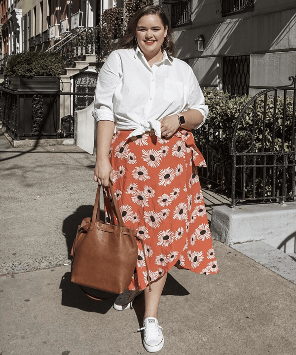 Maddy Gutierrez - estampa floral - pinterest - outono - street style - https://stealthelook.com.br