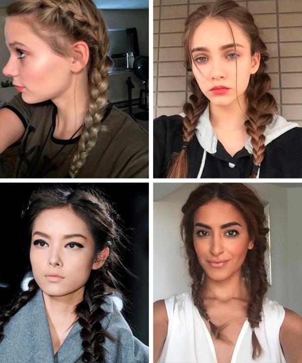 modelo - cabelos - tranças - verão - em-casa - https://stealthelook.com.br