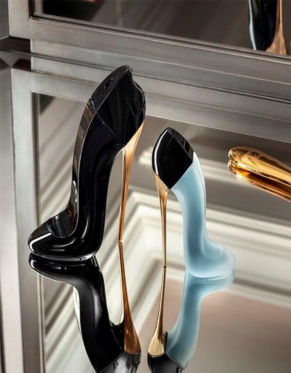 It girls - Perfume - Carolina Herrera - Outono - Em casa - https://stealthelook.com.br