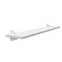 Prateleira com suporte Concept 10x40cm branca Prat-k