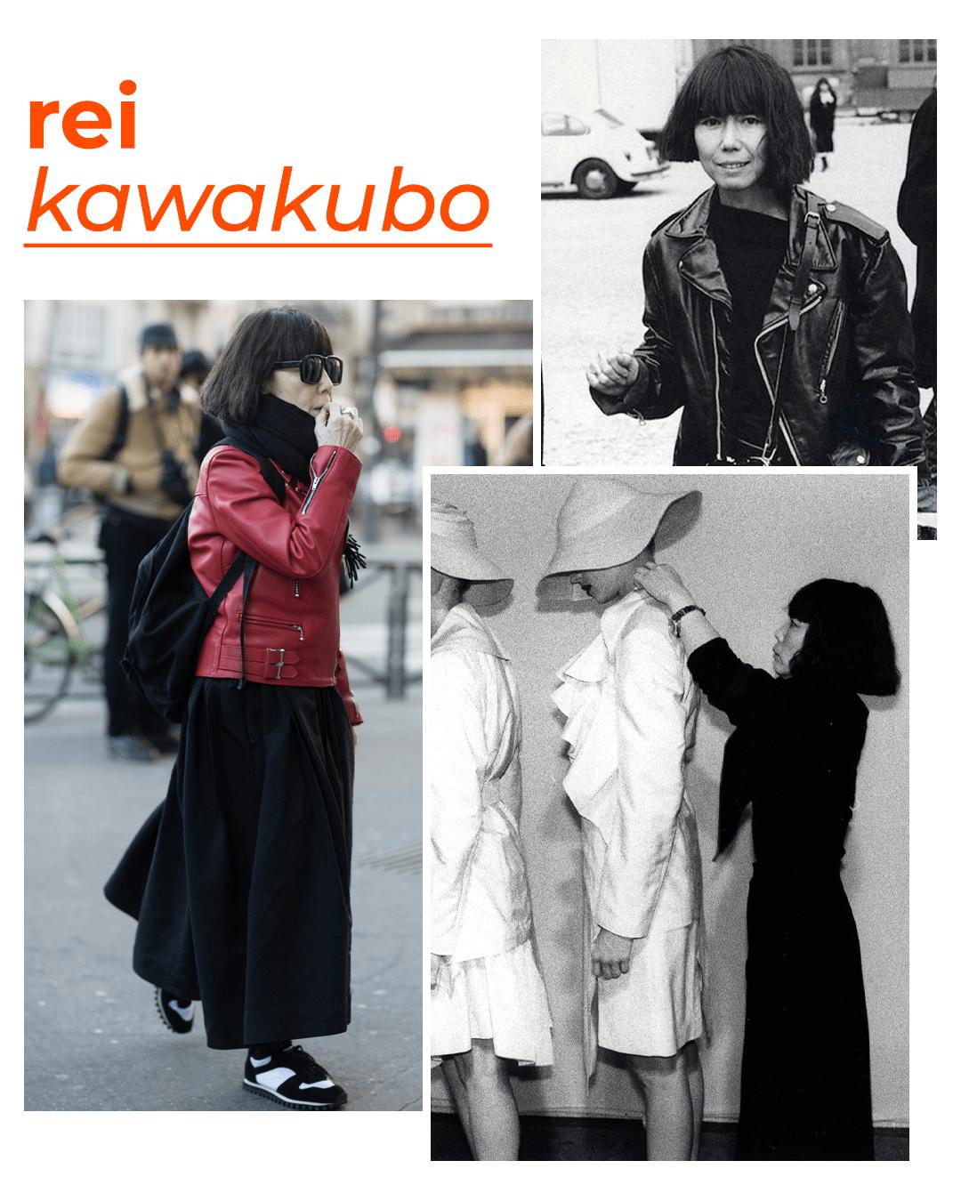 Rei Kawakubo - mulheres que revolucionaram a moda - dia internacional da mulher - outono - street style - https://stealthelook.com.br