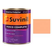 Tinta Acrilica Suvinil Pêssego Fosco Lavável 900ml
