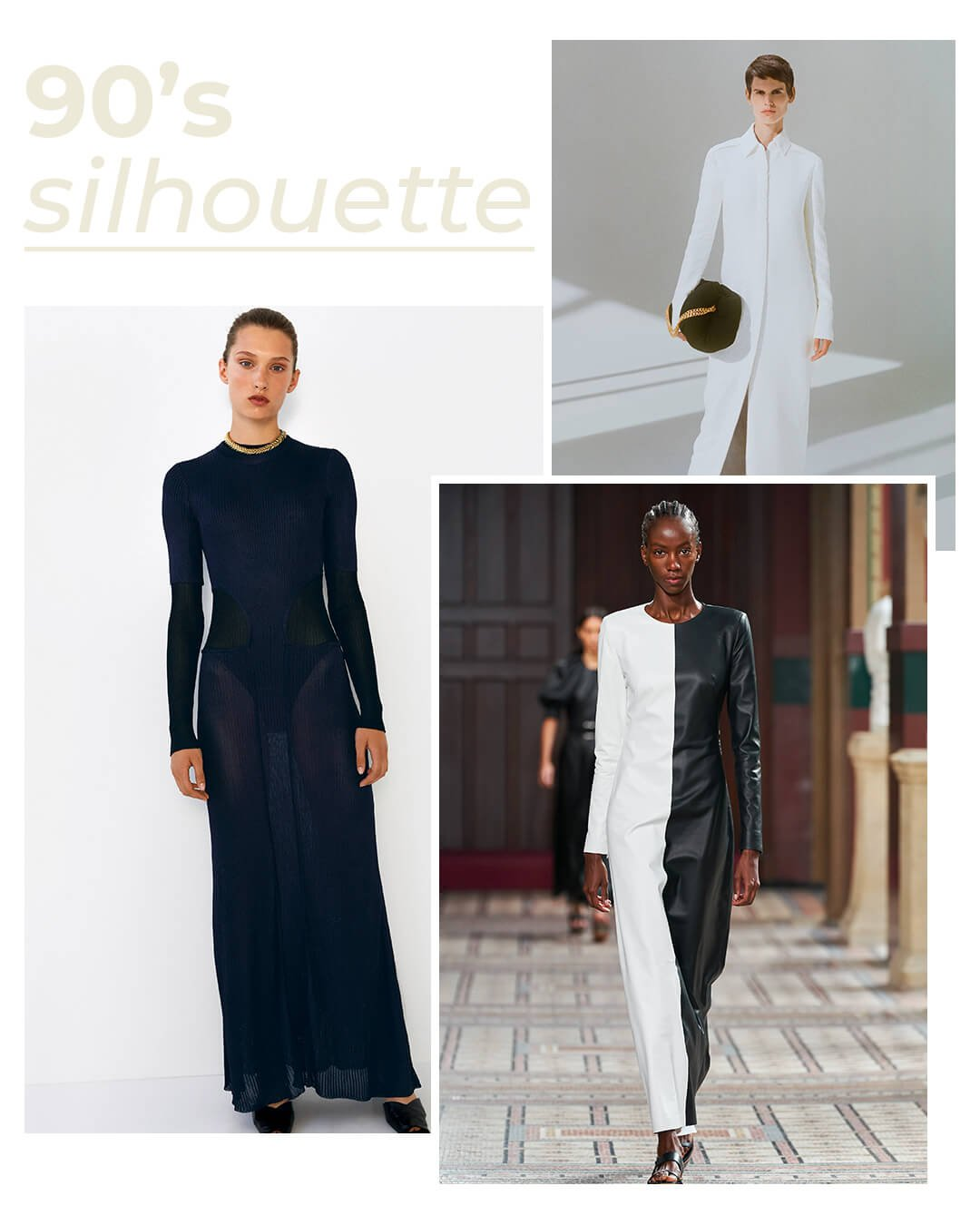 It girls - Silhueta - Anos 90 - Outono - Runaway - https://stealthelook.com.br