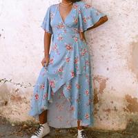 Vestido Bonina Azul