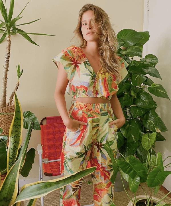 Yasmin Leao - pessoas mais estilosas - farm - outono - street style - https://stealthelook.com.br