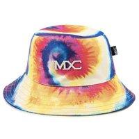 Chapéu Bucket Hat MXC BRASIL Estampado Psicodélico Tie Dye - Amarelo