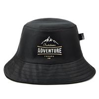 Chapéu Bucket Hat MXC BRASIL Estampado Aventura Outdoor - Preto
