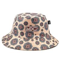 Chapéu Bucket Hat MXC BRASIL Estampado - Bege
