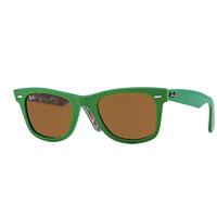 Óculos de Sol Ray-Ban 0RB2140-WAYFARER Unissex - Verde