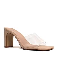 Sandália Damannu Shoes Vinil Victoria Feminina - Nude