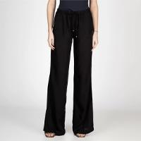 Pantalona Com Elástico E Cordão Bloom Feminina - Preto