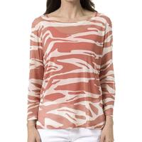 Blusa Bloom Tule Zebra Feminina - Laranja Escuro