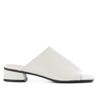 MULE SHOESTOCK BASIC SALTO BAIXO - OFF WHITE