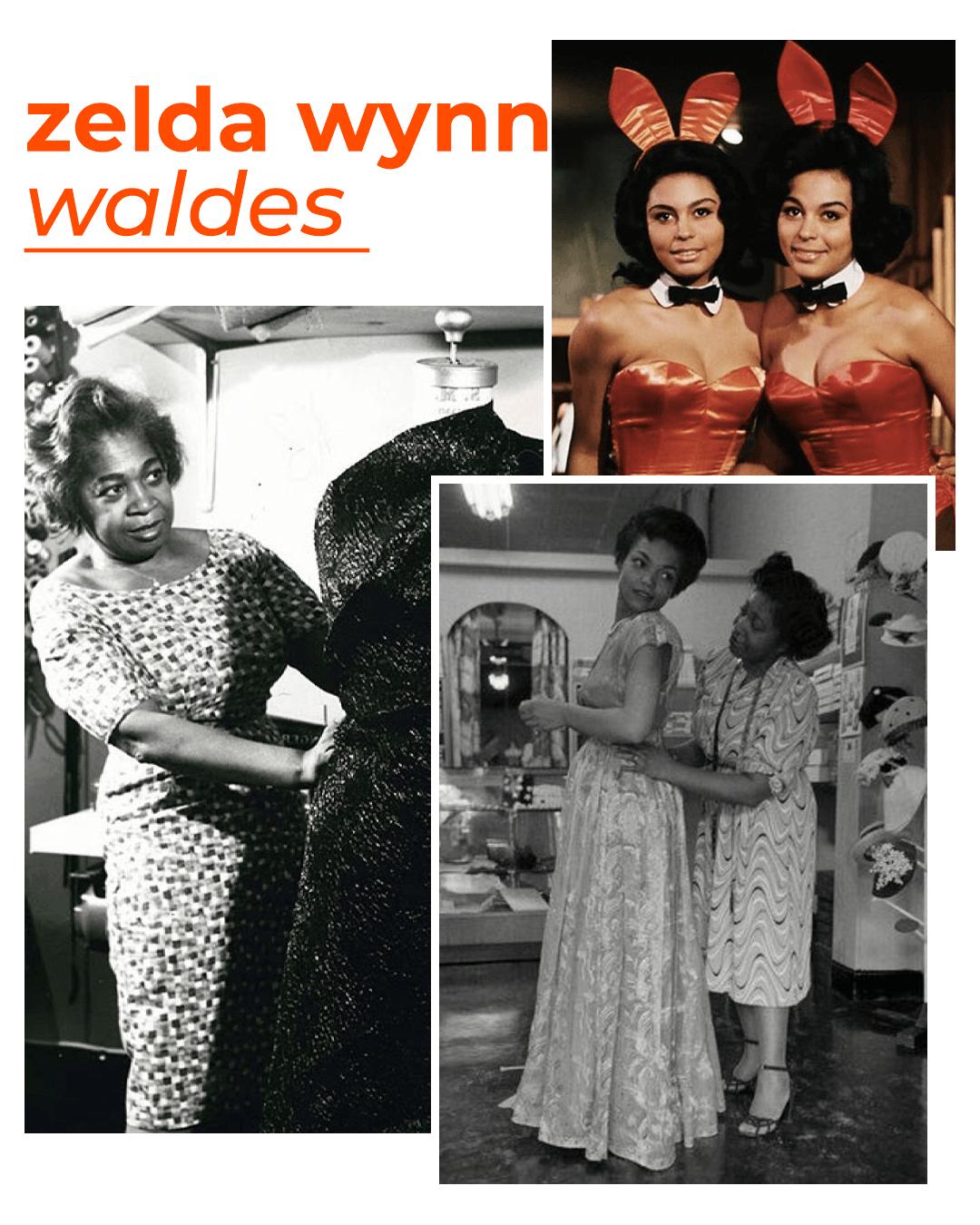 Zelda Wynn Waldes - mulheres que revolucionaram a moda - dia internacional da mulher - outono - street style - https://stealthelook.com.br