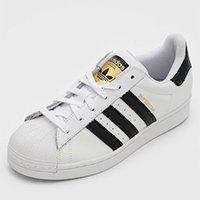Tênis Couro adidas Originals Superstar Branco/Preto