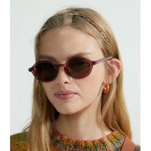 Óculos De Sol Feminino Modelo Redondo