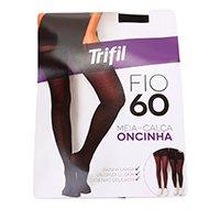 Meia Calça Trifil Onça Fio 60 Feminina - Preto