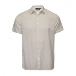 Camisa Masculina Viscose Flamê Off White Tamanho P