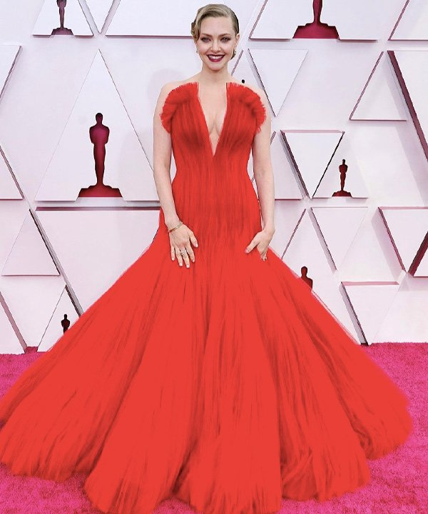 Amanda Seyfried - looks do oscar 2021 - red carpet - outono - street style - https://stealthelook.com.br