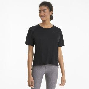 Puma Camiseta Studio Graphene Relaxed Fit Training Feminina – Cor Preto - Tamanho P
