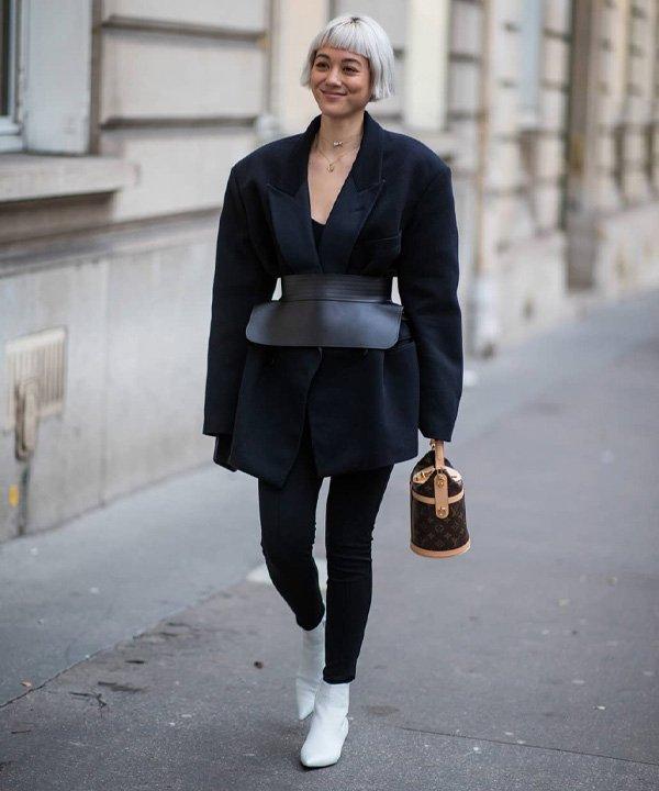 Kim Jones - acessório tendência - corset belt - outono - street style - https://stealthelook.com.br