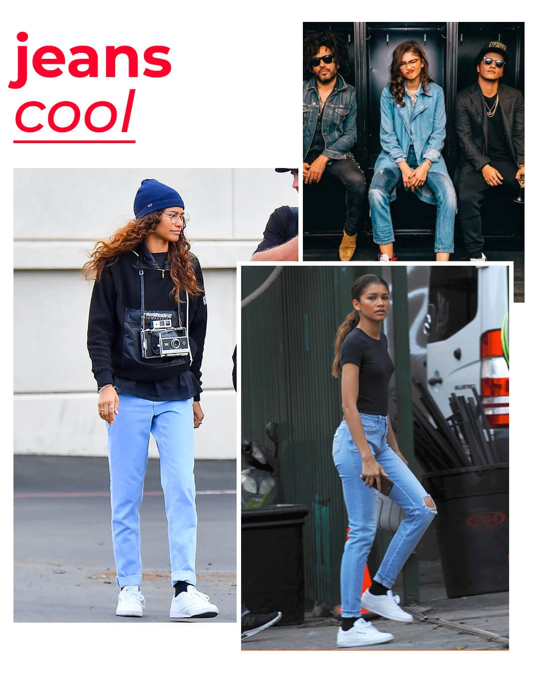 It girls - Jeans - Jeans - Outono - Street Style - https://stealthelook.com.br