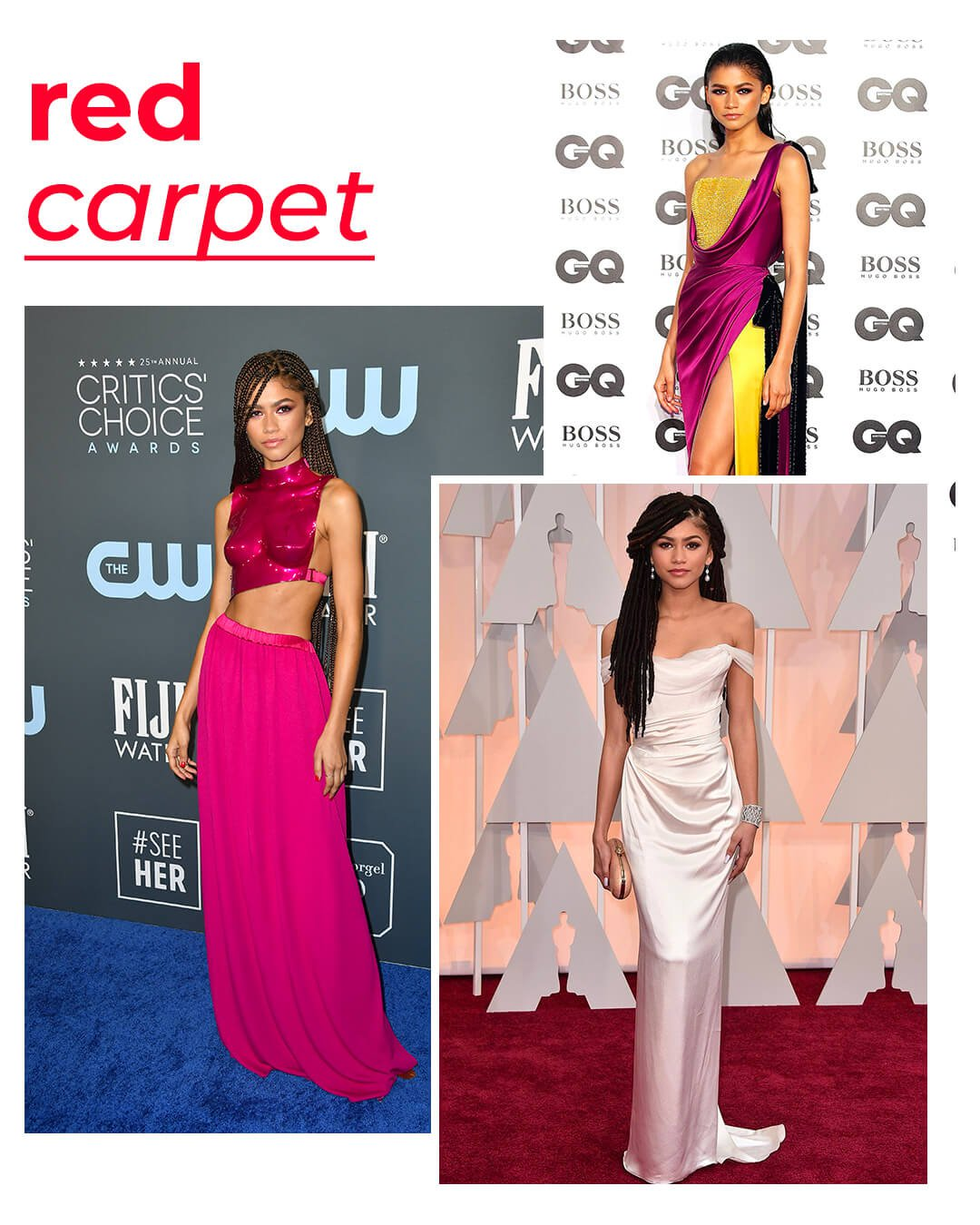 It girls - Red carpet - Red carpet - Outono - Red Carpet - https://stealthelook.com.br