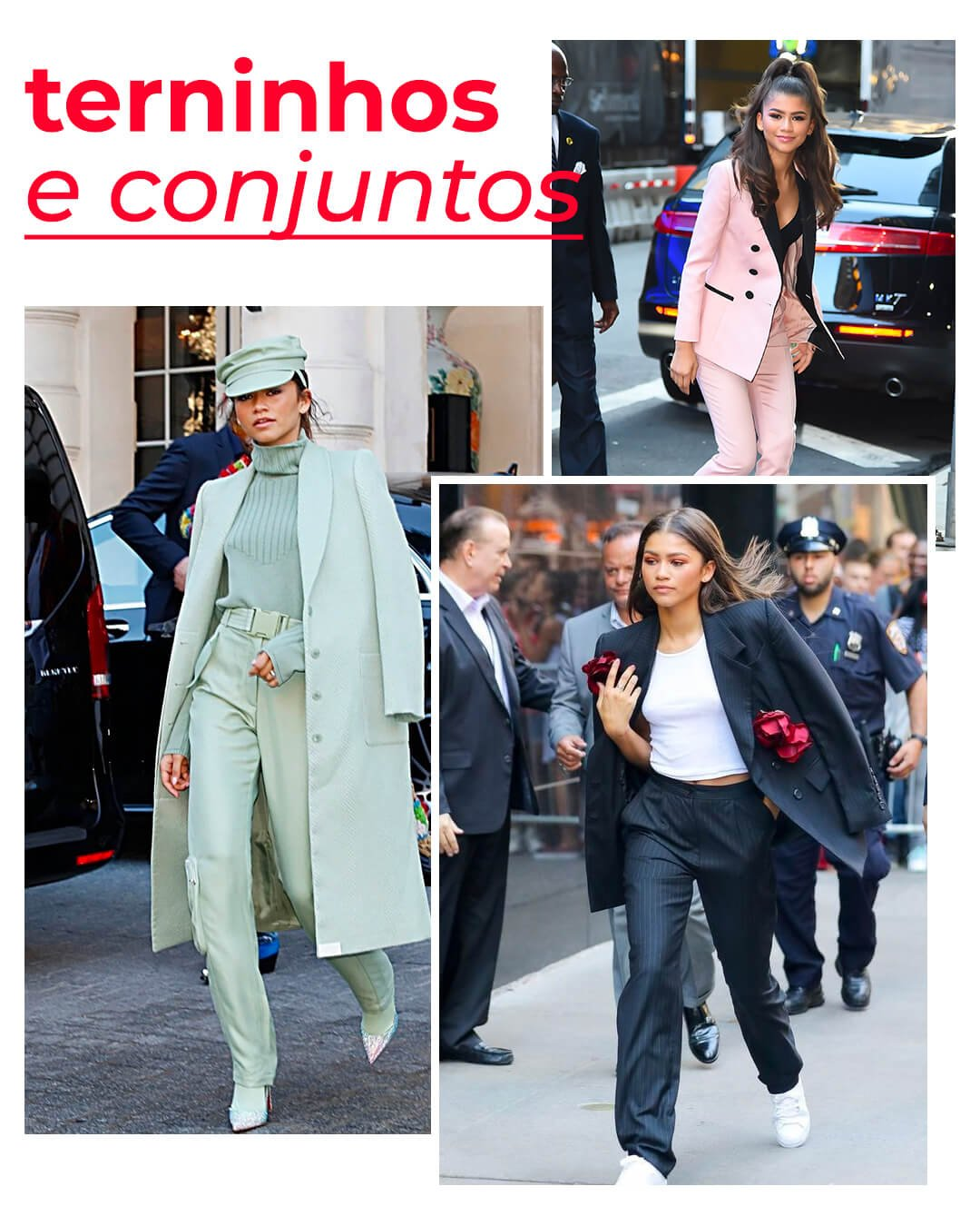 It girls - Terninho - Terninho - Outono - Red Carpet - https://stealthelook.com.br