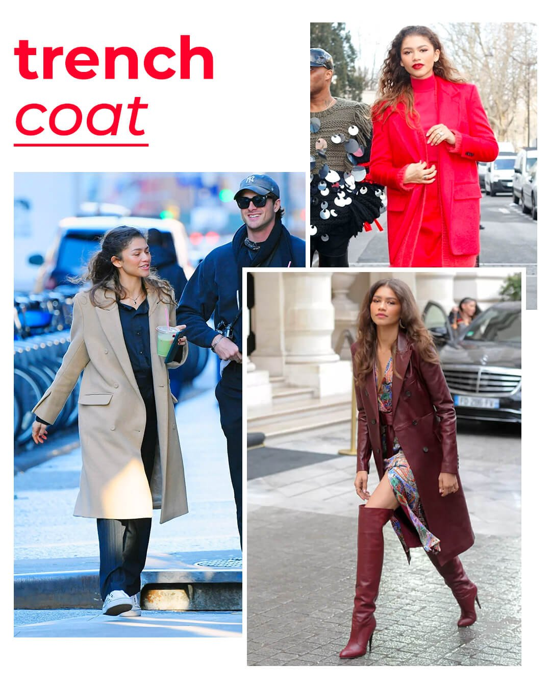 It girls - Trench coat - Trench coat - Outono - Street Style - https://stealthelook.com.br