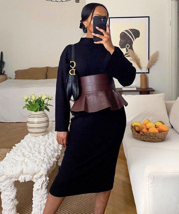 Lydia - acessório tendência - corset belt - outono - street style - https://stealthelook.com.br