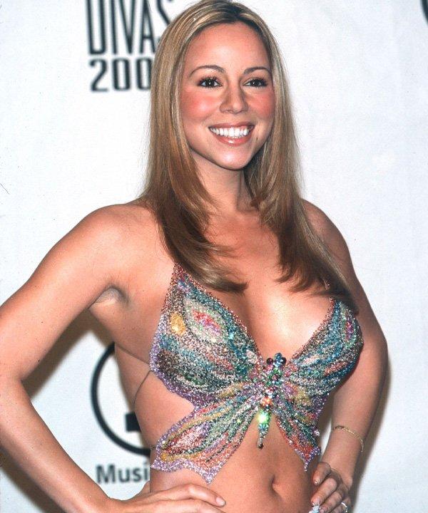 Mariah Carey - tendências dos anos 2000 - moda dos anos 2000 - outono - street style - https://stealthelook.com.br