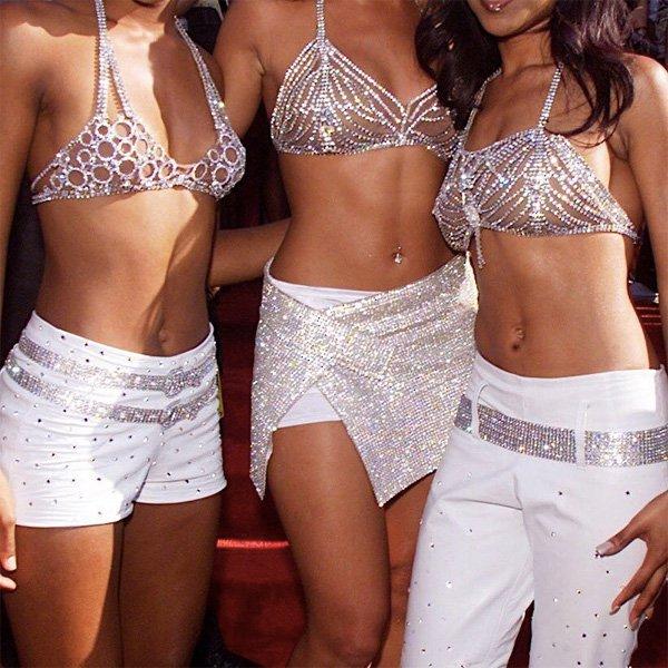Destiny's Child - tendências dos anos 2000 - moda dos anos 2000 - outono - street style - https://stealthelook.com.br
