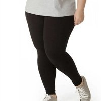 Çalça Legging Plus Size Feminina - Preto