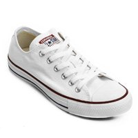 Tênis Converse All Star Ct As Core Ox - Off White+Vermelho