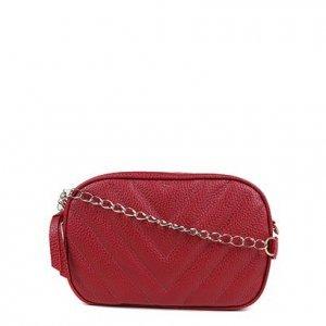 Bolsa Shoestock Crossbody Box Matelassê Feminina - Feminino - Vermelho