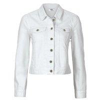 bonprix - Jaqueta de Sarja Branca
