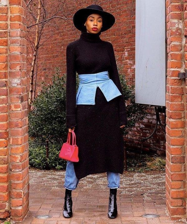 Rayya - acessório tendência - corset belt - outono - street style - https://stealthelook.com.br