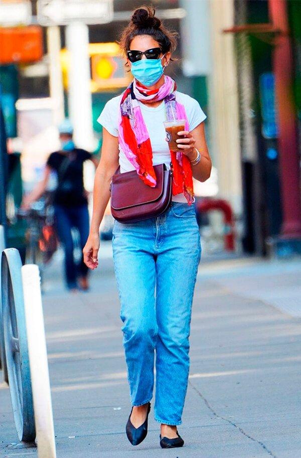 Katie Holmes - Sapatos - Sapatilha - Outono - Street Style - https://stealthelook.com.br