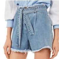Shorts Jeans Iódice Feminino - Azul