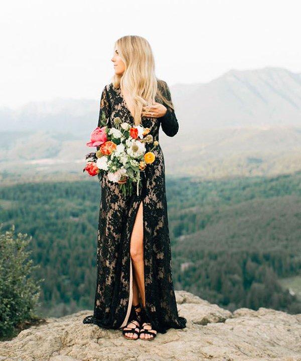Jenna bechtholt photography  - vestido de noiva - vestido de noiva preto - outono - brasil - https://stealthelook.com.br