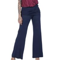 Calça Yoga Amazônia Vital Pantalona Feminina - Azul