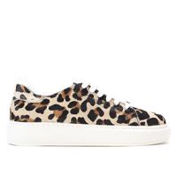 Tênis Couro Santa Lolla Big Leopard Feminino - Onça