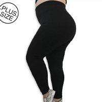 Legging Plus Size Heide Ribeiro Suplex Basic - Preto