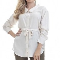 Camisa Clara Arruda Oversized 12070 - Off White