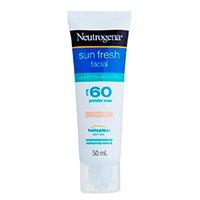 Protetor Solar Facial com Cor Neutrogena - Sun Fresh Controle de Brilho FPS 60 - 50ml