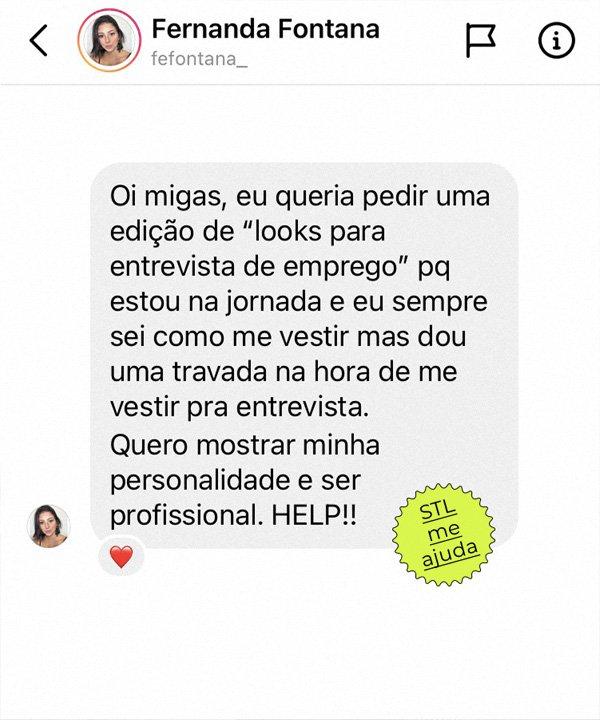 STL me ajuda - looks para entrevista de emprego - looks - outono - street style - https://stealthelook.com.br