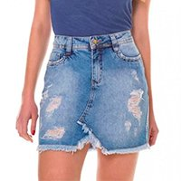 Saia Jeans Express Julia - Azul