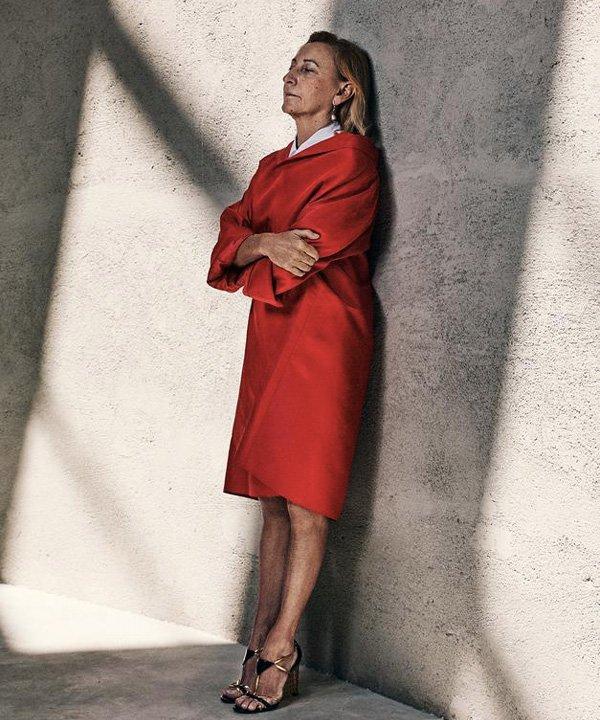 Miuccia Prada - Prada - história da moda - outono - street style - https://stealthelook.com.br