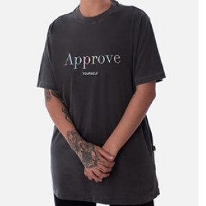 Camiseta Regular Approve Mirage Cinza Color